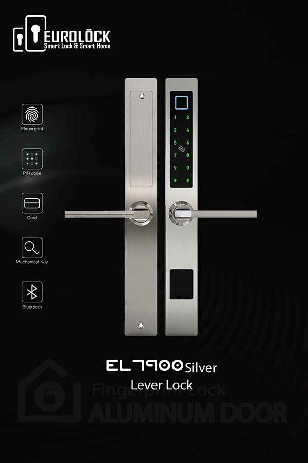 Khóa vân tay cửa nhôm EUROLOCK EL7900-AL