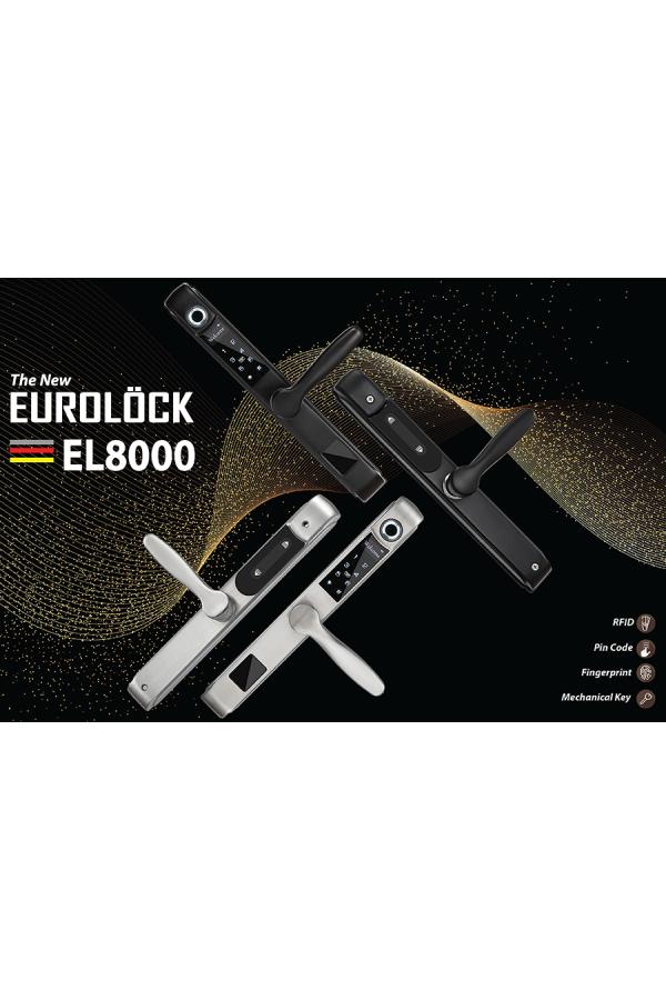 Khóa vân tay cửa nhôm EUROLOCK EL8000-AL