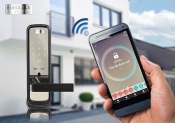 Khóa điện tử Eurolock - Tính năng mở cửa bằng wifi có thông minh hay không?