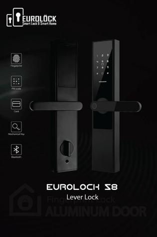 Khóa vân tay EUROLOCK S8 BLACK