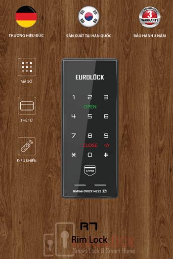 Lắp đặt khóa điện tử EUROLOCK R7 tại chung cư Belleza, Quận 7