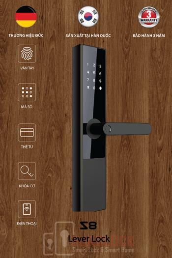 Lắp đặt khóa điện tử EUROLOCK S8 tại Phú mỹ hưng, Quận 7